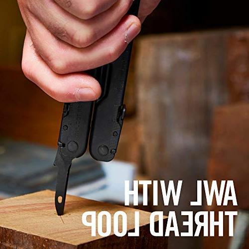 LEATHERMAN - Super Tool 300 Multitool, Black with MOLLE