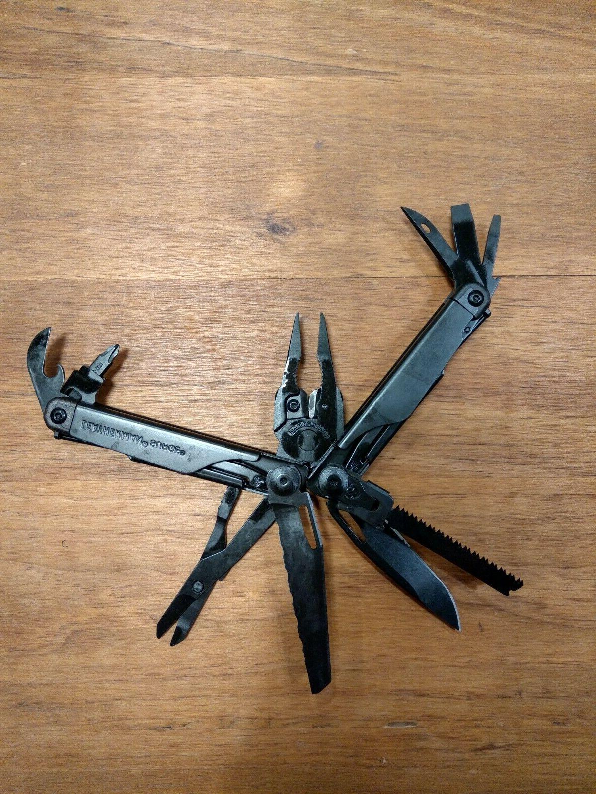survival surge black 21 tools multi tools