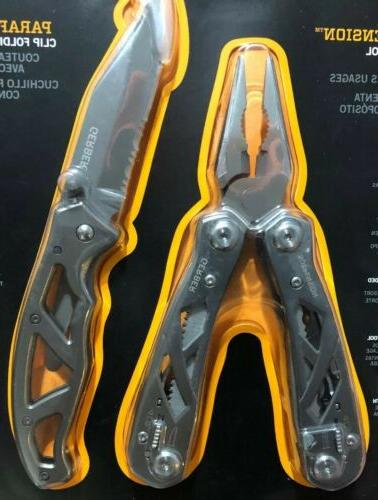 Gerber Suspension Multi-Tool and Paraframe Clip NEW