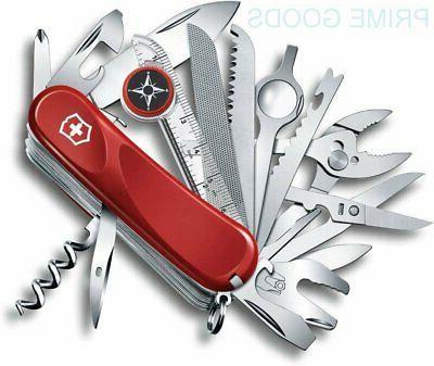 swiss army evolution pocket knife
