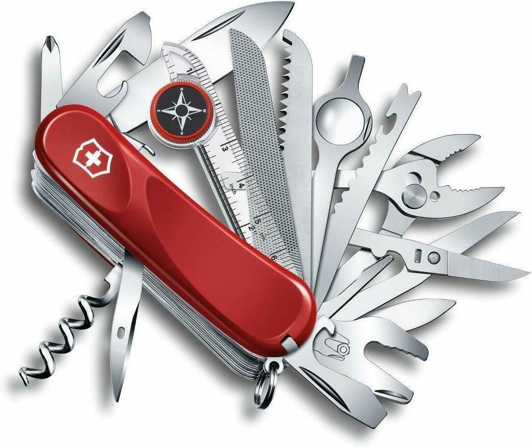swiss army multi tool evolution pocket knife