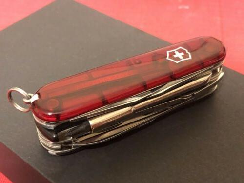 Victorinox Swiss Knife CyberTool 34 Red Multi Tool