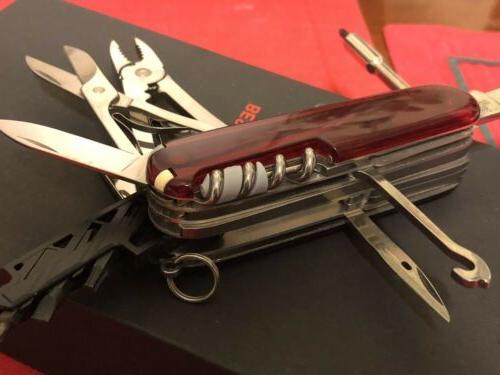 Knife CyberTool 34 Red Multi
