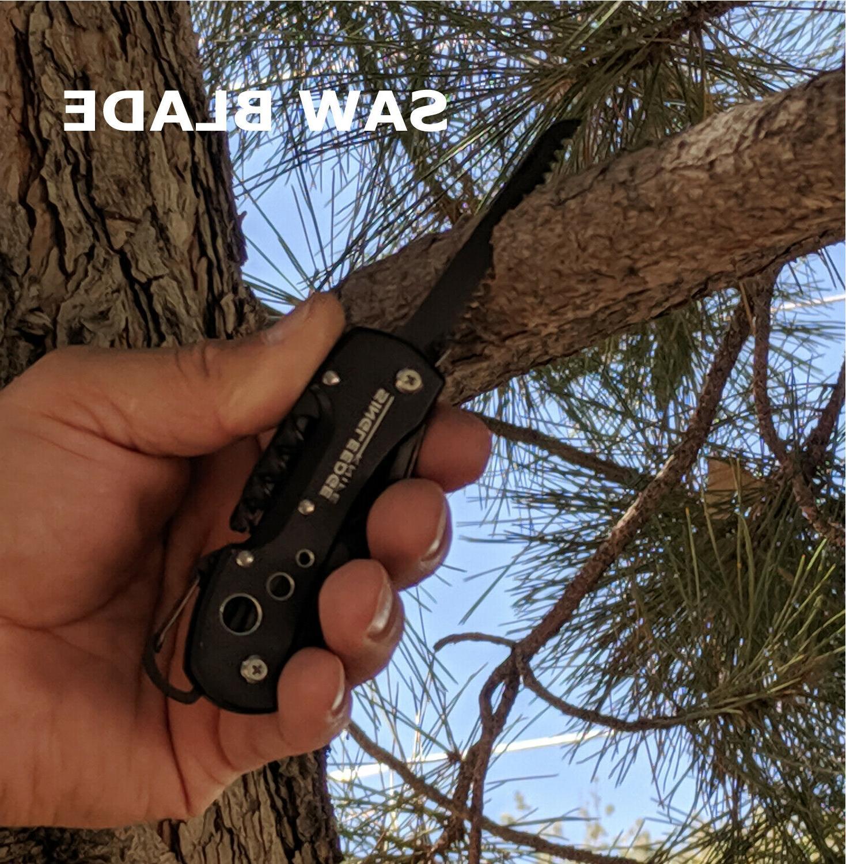 Titanium Multi-Tool Style Pocket SingleEdge - 14 Tool