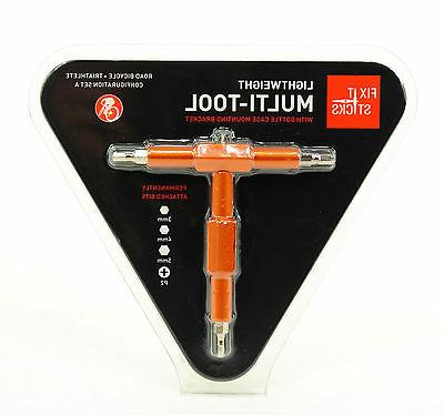 FIX IT STICKS TOOLS Multi Tool Roadie for Road Bike, with Br
