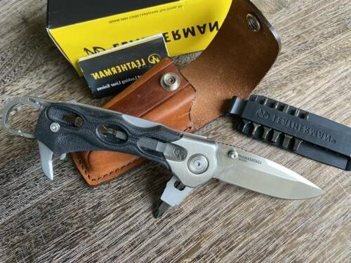 vintage k502x knife multitool collectible 154cm leather