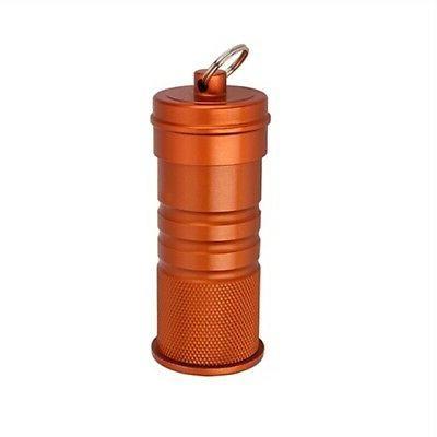 waterproof matchbox orange