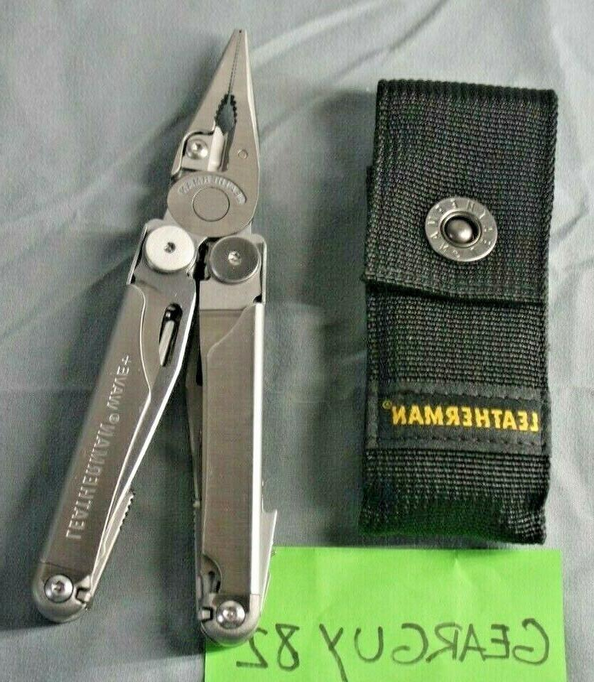 wave plus multi tool with black nylon