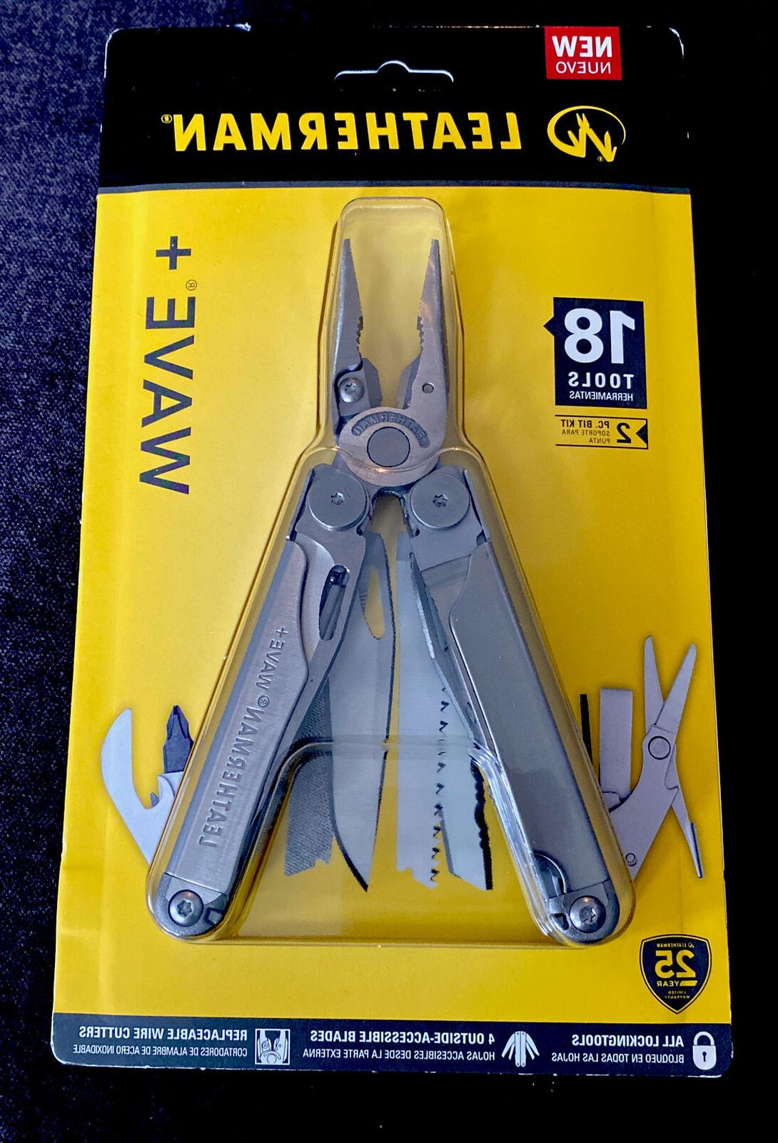 wave plus multitool stainless steel