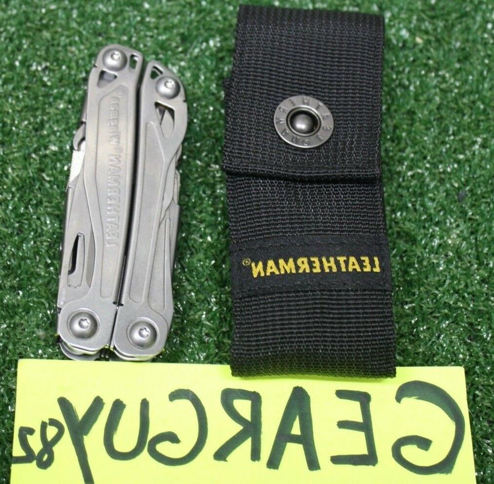 wingman multi tool stainless w nylon sheath