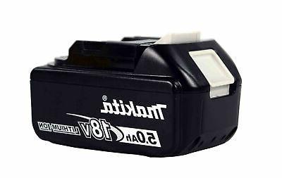 Makita XMT03Z w/ 2pc. BL1850B 5.0Ah Battery,