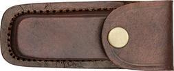 Pakistan 4in. Leather Belt Sheath, Brown