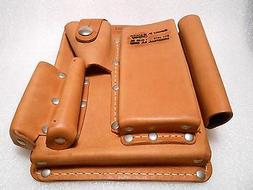 """Leather Holster Multi Tool John A. Eberly 8"""" x 7"""" Many Tools"""
