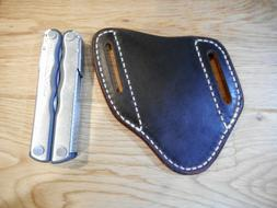Leatherman Fuse or Rebar leather quick draw sheath. Sheath o