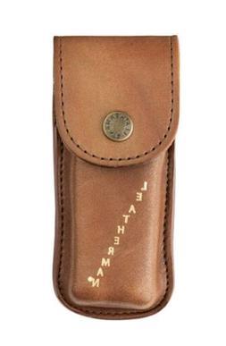 LEATHERMAN - Heritage Leather Snap Sheath for Multitools, Me