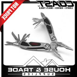 LED150 Dual LED Multi-Tool with 13 Tools, 3 Inch Stainless S