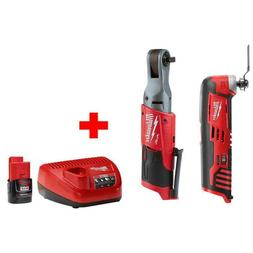 M12 FUEL 12-Volt Lithium-Ion Brushless Cordless 3/8 in. Ratc