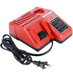 M12 & M18 Multi Voltage Lithium Ion Battery Charger for Milw