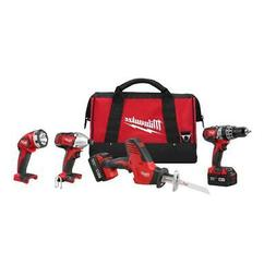 Milwaukee 2695-24 M18 18-Volt Cordless Power Lithium-Ion 4-T