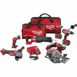 Milwaukee M18 FUEL Cordless Lithium-Ion 6-Tool Combo Kit 289