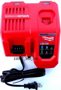 M18 & M12 Rapid Charger Milwaukee 48-59-1808 New