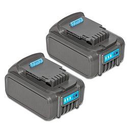 LiBatter 2Pack 20V MAX 6.0Ah Lithium Ion Premium Battery for