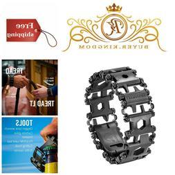 Metal Modular Design Tread Bracelet Travel Friendly Wearable