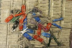 LEATHERMAN MICRA MULTI TOOL FOLDING POCKET KNIFE UTILITY USE