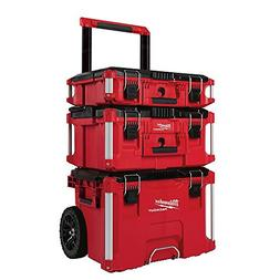 Milwaukee 22 in. Packout Rolling Modular Tool Box Stackable
