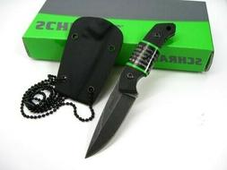 Mini Tactical Fixed Blade 2 Drop Point Blade with Smooth G-1