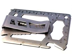 Mountain Man Multi-Tool with Removable Money Clip - 40 tools