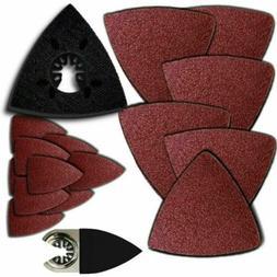 MS17; 66 Pc Sanding Kit Oscillating Multi Tool Sand Pad For