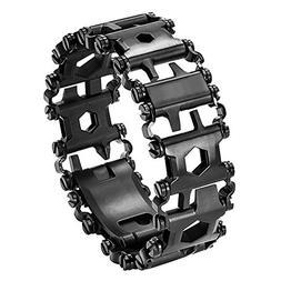 Multi Tool Bracelet,LETIN Stainless Steel Wearable Tread Mul