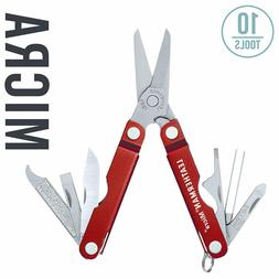 Leatherman MULTI-TOOL, MICRA, RED ALUMINUM
