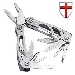 Multi-purpose EDC Pocket Knife with Pliers – Swiss Army mu