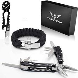 Multi Tool Survival Gear Kit – Birthday Gifts Cool Gadgets