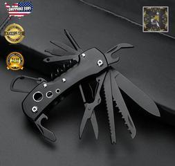 Multi Tool Knife Multipurpose Outdoor Folding Pocket Pliers