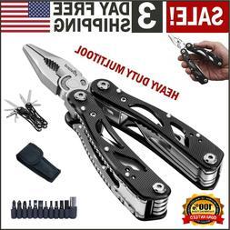 Multi Tool Knife Pliers Saw Kit Folding Knives Multitool & S
