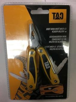CAT Multi- tool with Sheath - 13 Tools Used For Everyday Qui