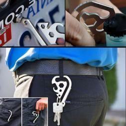multifunction edc gear outdoor saws belt clip