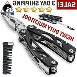 Multifunction Outdoor Camping Emergency Tools Knife with Mul