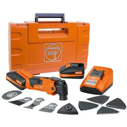 Fein MultiMaster StarlockPlus Cordless Oscillating Tool Set