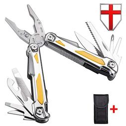 Multitool with Pliers Knife and Saw - Portable Ultimate Lock