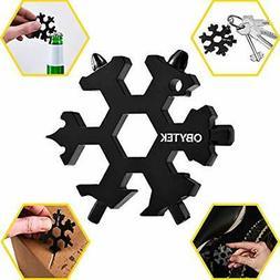 Multitools Obytek 19-in-1 Titanium Steel Snowflake Tool EDC