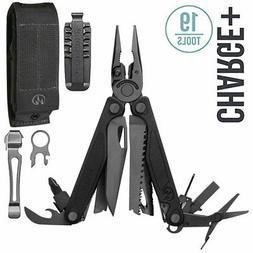 ~NEW~ Leatherman Charge Plus, Black Oxide w/ 4-Pocket Sheath