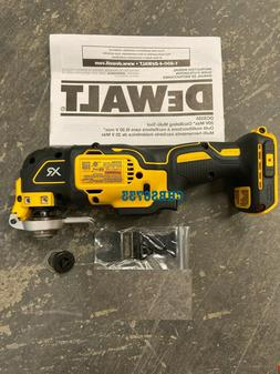 New Dewalt DCS355 20V Cordless Brushless Oscillating MultiTo