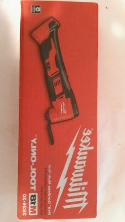 New Milwaukee M18 18-Volt Lithium-Ion Cordless Multi-Tool  2