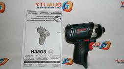 "New Bosch PS41 12V Max Li-Ion Cordless 1/4"" Hex Impact Drive"
