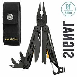 ~NEW~ Leatherman Signal Survival Multi-Tool, Black w/ Nylon