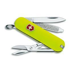 NEW VICTORINOX SWISS ARMY POCKET KNIFE CLASSIC SD STAY GLOW